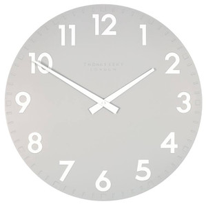Thomas Kent Camden Large 51cm Designer Wall Clock in Smoke CK20113