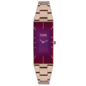Storm Ixia Rose Gold Purple 47255/P