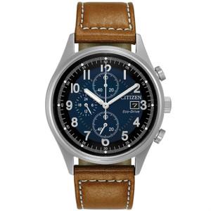Citizen Mens Eco Drive Blue Dial Watch CA0621-05L