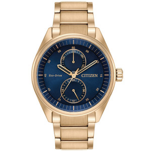 Citizen Mens Eco Drive Blue Dial Paradex Watch BU3013-53L
