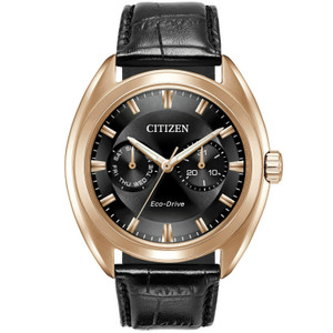 Citizen Mens Eco Drive Rose Gold Paradex Watch BU4013-07H