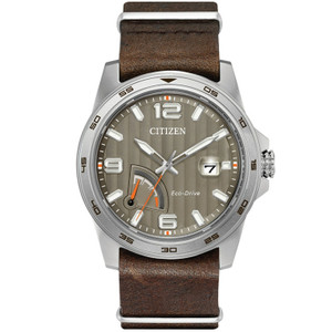 Citizen Mens Eco Drive Power Reserve Watch AW7039-01H