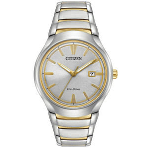 Citizen Mens Eco Drive Two-Tone Paradigm Watch AW1554-59H