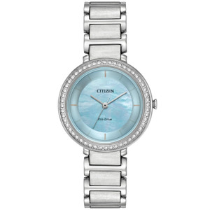 Citizen Ladies Swarovski Eco Drive Silhouette Watch EM0480-52N