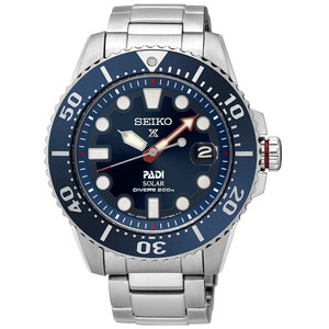 Seiko Prospex PADI Special Edition Solar Mens Watch SNE435P1