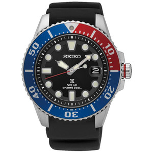 Seiko Prospex Mens Solar Powered Divers Watch SNE439P1