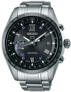 Seiko Astron Limited Edition GPS Worldtime Mens Watch SSE117J1