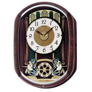 Seiko Clocks Marionette Alarm Clock QXM297B