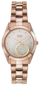 Storm Rose Gold Crystin Watch