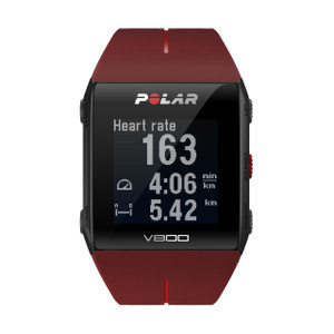 Polar V800 GPS Running Watch Red 90060774 with Heart Rate Sensor