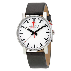 Mondaine Evo Alarm Watch A468.30352.11SBB