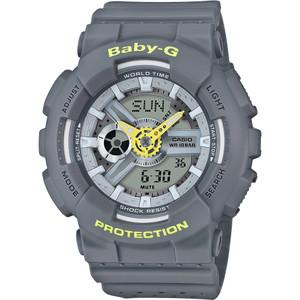 Baby-G Punching Pattern Grey Watch BA-110PP-8AER