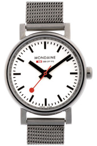 Mondaine Evo Petite Ladies Mesh Bracelet Small Size Watch A658.30301.11SBV
