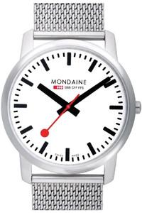 Mondaine Simply Elegant Gents Slim Watch With Mesh Bracelet A672.30350.16SBM