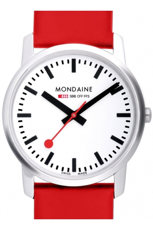 Product Review - Mondaine Ladies Watch With Red Leather Strap