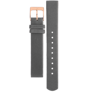 Skagen Watch Replacement Strap For SKW2216 Grey Leather With Free Pins