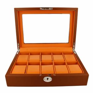 Orbit Men's Leather Watch Box OW180