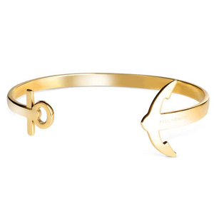 Paul Hewitt Ladies Ancuff Gold Bracelet Small PH-CU-G-S