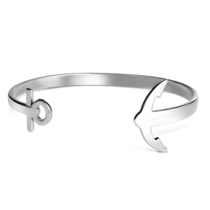 Paul Hewitt Ladies Ancuff Silver Bracelet Medium PH-CU-S-M