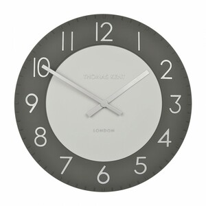Thomas Kent Townhouse Graphite Large Wall Clock CKK2003