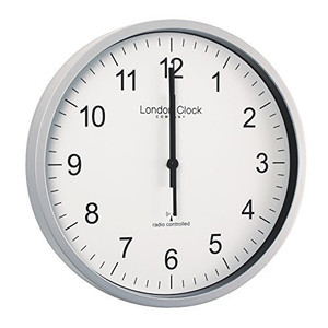 London Clock Radio Controlled Wall Clock 36034