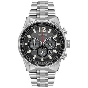 Citizen Eco-Drive Men's Nighthawk Chronograph Watch CA4370-52E