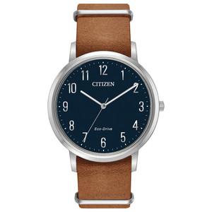 Citizen Eco-Drive Men's Chandler Blue Dial Watch BJ6500-12L