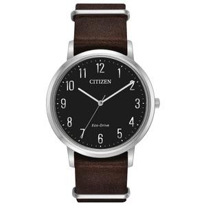 Citizen Eco-Drive Men's Chandler Black Dial Watch BJ6500-04E