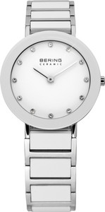 Bering White Ceramic Ladies Watch 11429-754