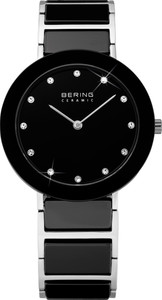 Bering Black Ceramic Ladies Watch 11435-749