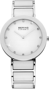 Bering White Ceramic Ladies Watch 11435-754