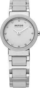 Bering White Ceramic Ladies Watch 10725-754