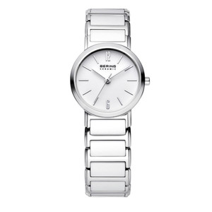 Bering White Ceramic Ladies Watch 30226-754