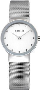 Bering Silver Mesh Ladies Watch 10122-000