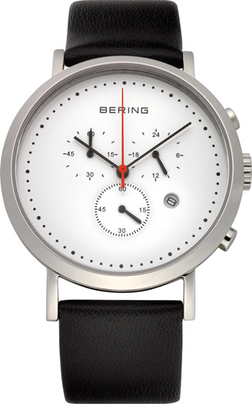 Product Review - Bering White Multidial Leather Mens Watch 10540-404