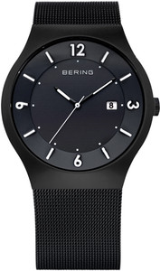 Bering Black Mesh Mens Watch 14440-222