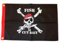 Fish or Cut Bait Pirate Flag