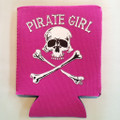 Pirate Girl Pocket Can Coolies