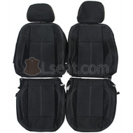 2005-2010 Hummer H3 Custom Real Leather Seat Covers (Front)