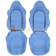 1997-2004 Porsche Boxster 986 Custom Real Leather Seat Covers (Front)