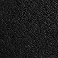 Charcoal Black Genuine Leather Upholstery Cow Hide Per SQ.FT