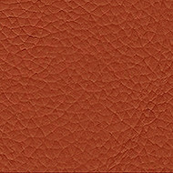 Burned Orange Genuine Leather Upholstery Cow Hide Per SQ.FT