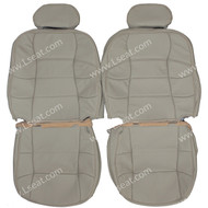 1998-2002 Lincoln Navigator Custom Real Leather Seat Covers (Front)