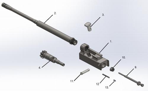 ARAK-21 Bolt Carrier - All Calibers