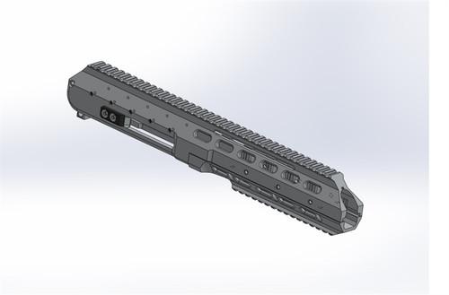 ARAK-21 Upper Receiver (Complete w/ NO BAU)