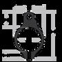 "SLR Rifleworks Sentry Adjustable Gas Block - .625"" Melonite Set Screw"