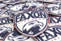Faxon Patch - Shield - Red, White, & Blue - Velcro Backed