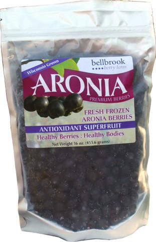 12oz -organic frozen aronia