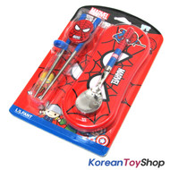 Mavel Spider Man Stainless Steel Spoon Chopsticks Wide Case Set