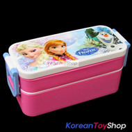 Disney Frozen Plastic Lunch Box 2 Tiers Bento